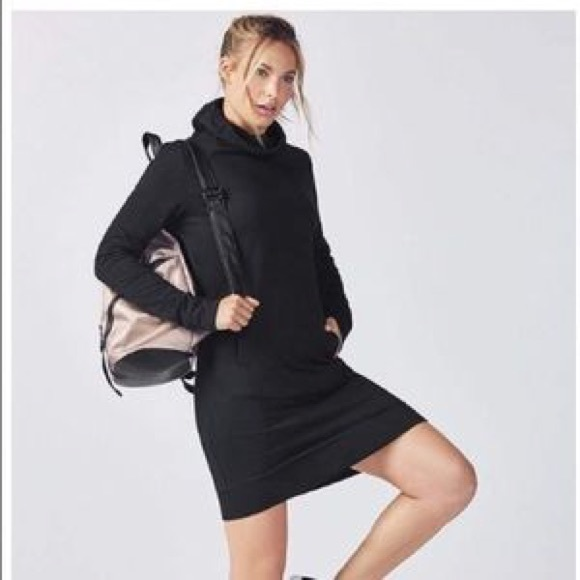 Fabletics Dresses   Skirts - Fabletics hoodies sweatshirt dress d965461b2d